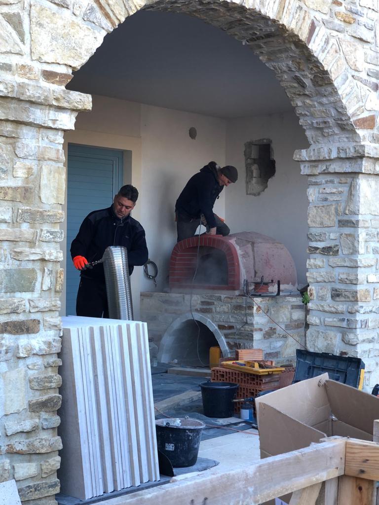 Cuptor de paine la Caldarusani