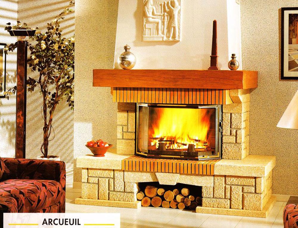 Seminee rustice - Semineu Arcueuil