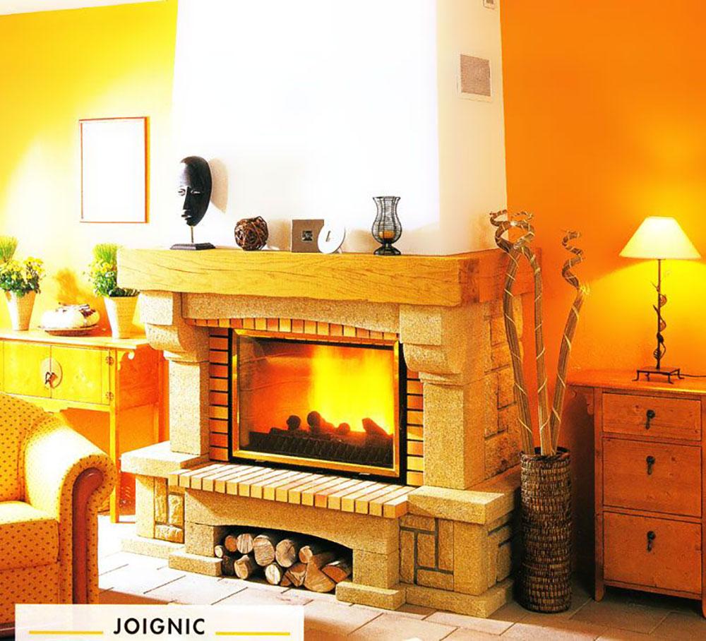 Seminee rustice - Semineu Joignic